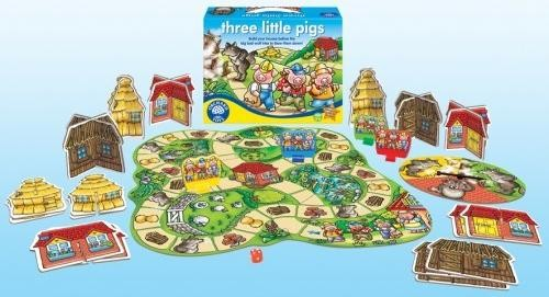 Cei trei purcelusi - Three little pigs - Orchard Toys
