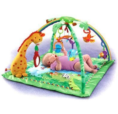 Centru activitati Fisher Price Rainforest Melodies & Lights Delux