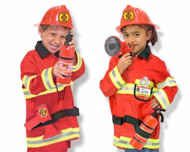 Costum carnaval copii - Pompier Sef
