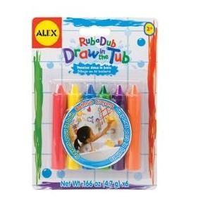 Creioane colorate de baie