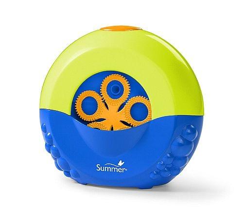 Dispozitiv pentru baloane Bubble Maker + solutie