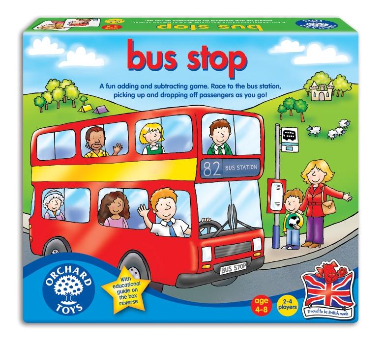Joc Autobuzul - Bus stop - Orchard Toys