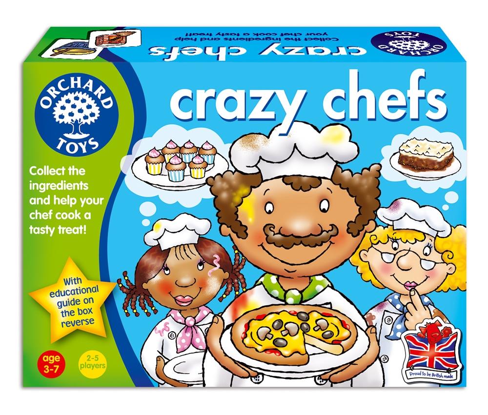 Joc Bucatarii priceputi - Crazy Chefs - Orchard Toys