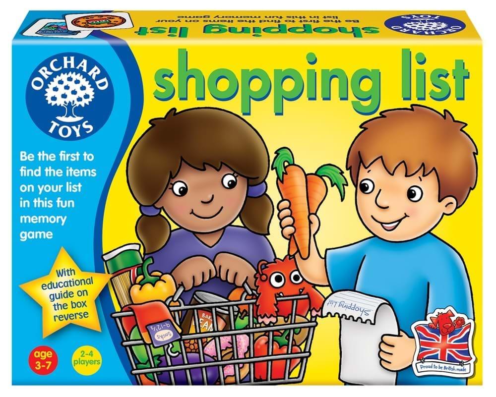 Joc colectiv - Lista de cumparaturi - Orchard Toys