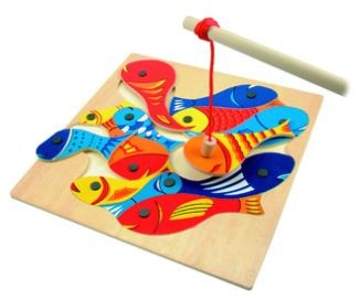 Joc magnetic - Pescuit - Woody