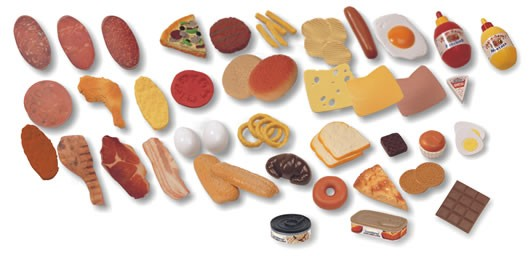 Jucarii Fast-Food - 52 bucati