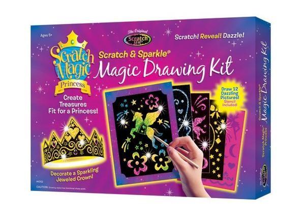 Kit desen prin razuire - Printesa magica