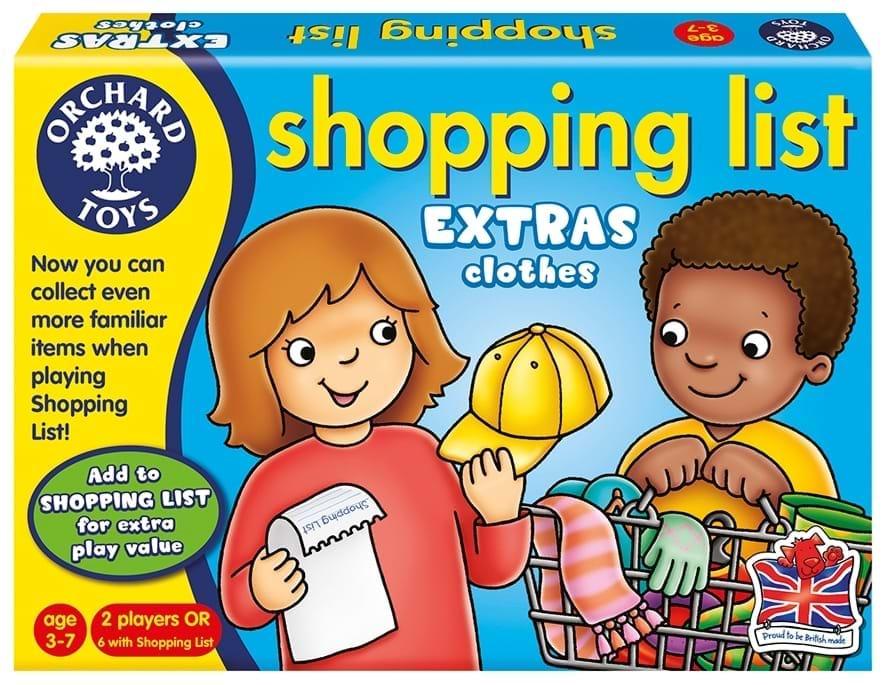 Lista de cumparaturi - Haine - Orchard Toys