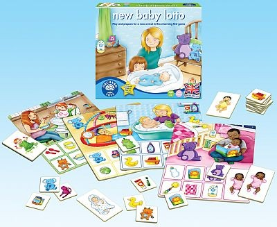 Loto bebelusul - New baby lotto - Orchard Toys