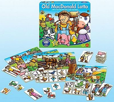 Loto ferma - Old MacDonald Lotto - Orchard Toys