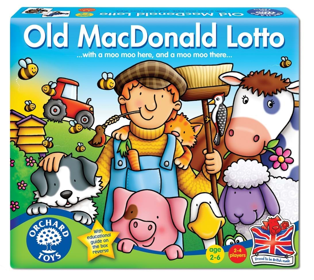 Loto ferma - Old MacDonald Lotto - Orchard Toys