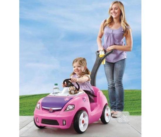 Masina pentru copii Whisper Ride II Pink STEP2