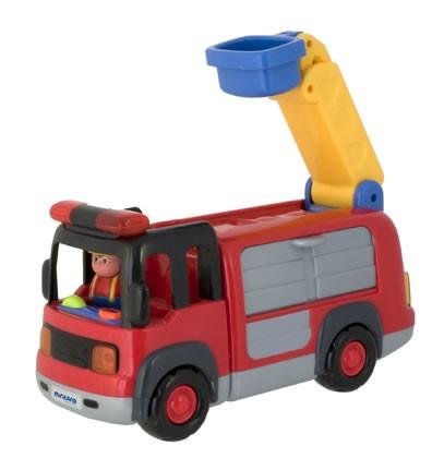 Masina de pompieri cu sunte si lumini