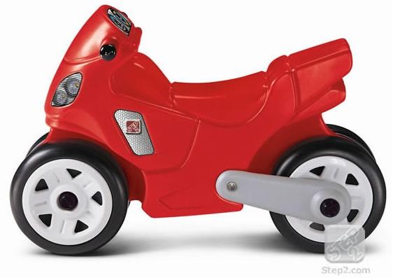 Motocicleta copii rosie