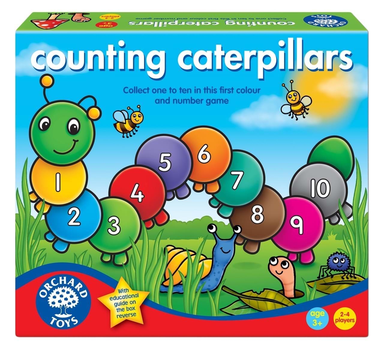 Numaram omizile - Counting caterpillars - Orchard Toys