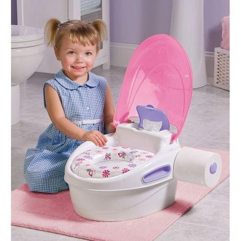 Olita Multifunctionala 3 in 1 Potty Training System - Pink