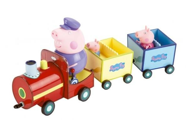 Peppa Pig si Trenul Bunicului