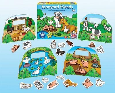 Prietenii de la ferma - Farmyard friends - Orchard Toys