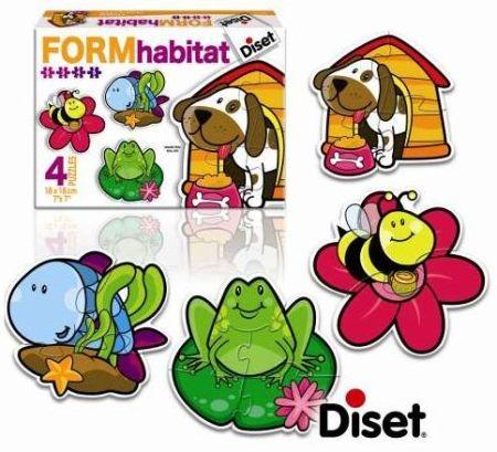 Puzzle Habitat - Diset