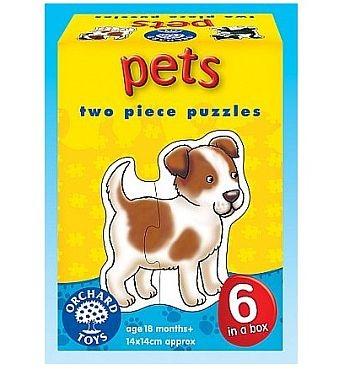 Puzzle animale de casa - Pets - Orchard Toys