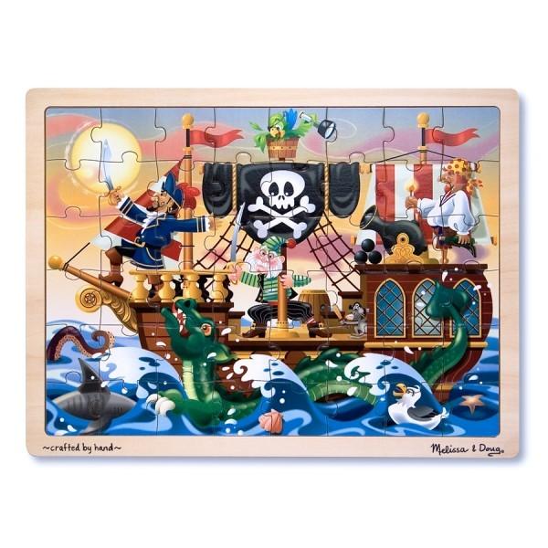Puzzle lemn - Aventura Piratilor