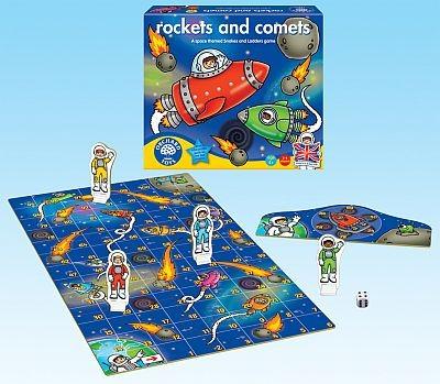 Rachete si comete - Rokets and comets - Orchard Toys