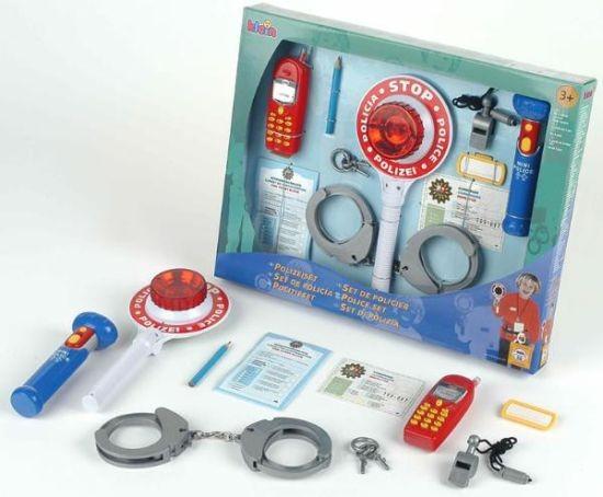 Set 10 accesorii politie - Klein