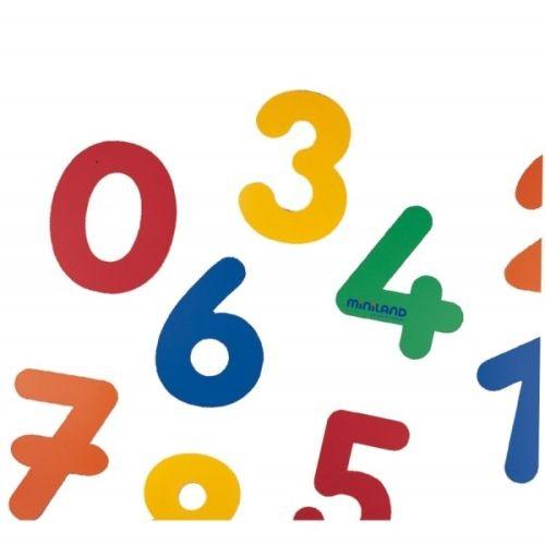 Set 10 cifre din plastic - 34 cm