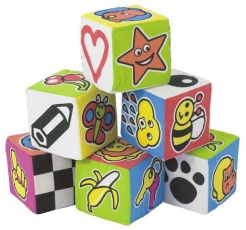 Set 6 cuburi educationale pentru bebelusi