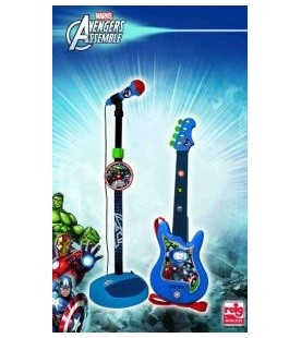 Set chitara si microfon Avengers