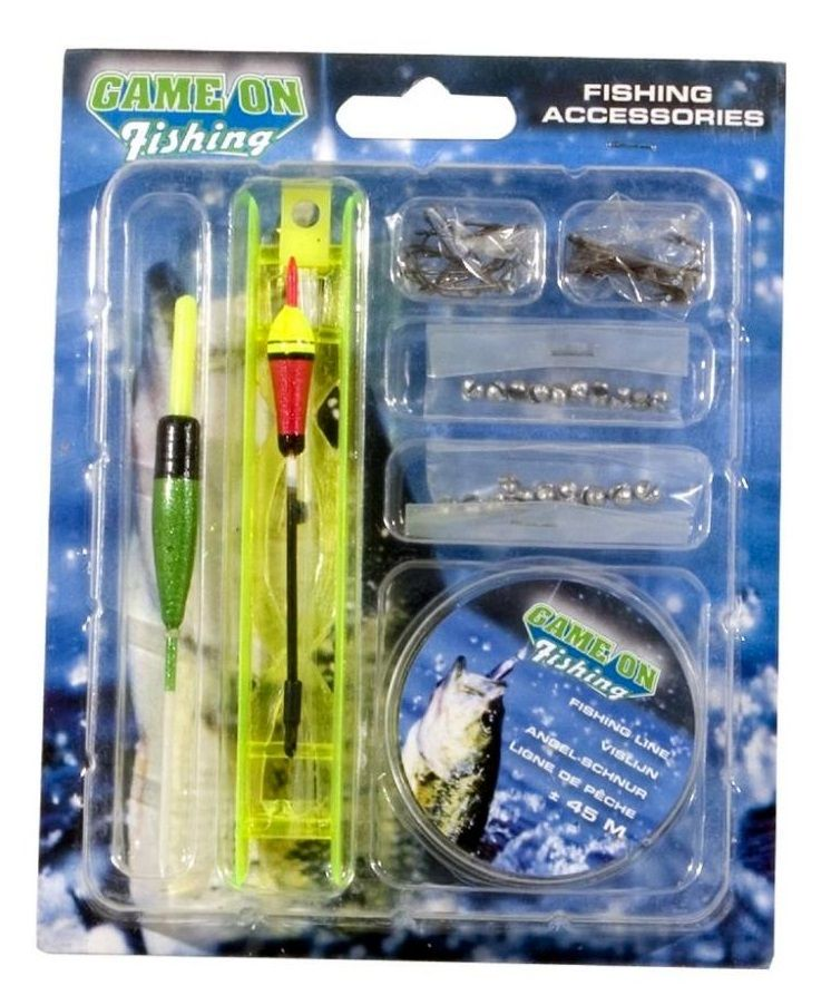 Set complet de accesorii pentru pescuit Game On Fishing