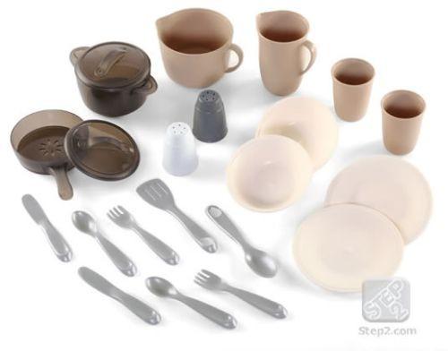 Set Dinning Room Pots Pans - STEP2