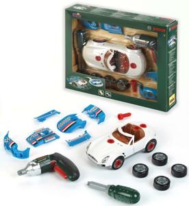 Set masina 3 in 1 cu accesorii tuning Bosch - Klein