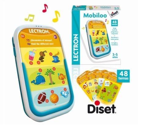 Tableta interactiva copii Mobiloo - Diset