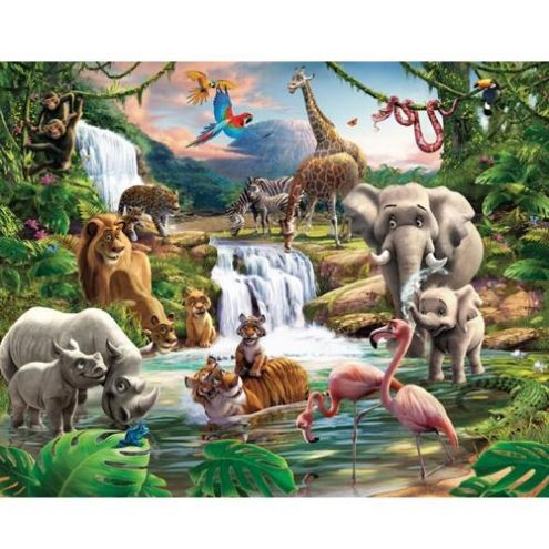 Tapet Walltastic - Aventura din jungla