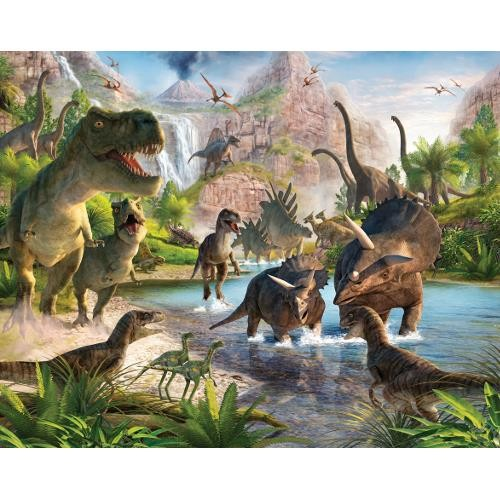 Tapet Walltastic - Lumea dinozaurilor