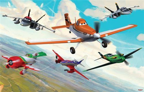 Tapet Walltastic - Planes
