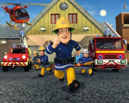 Tapet Walltastic - Pompierul Sam