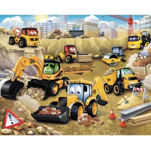 Tapet Walltastic - Prima mea constructie JCB