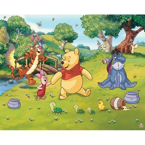 Tapet Walltastic - Winnie the Pooh
