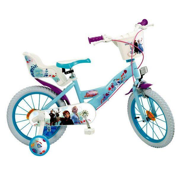 Bicicleta 16 Frozen 2 - fete - Toimsa