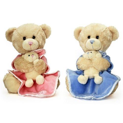 Ursuleti mama-copil Keel Toys