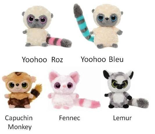 Yoohoo Friends - diverse personaje - 12,5 cm